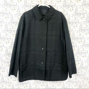 BURBERRY Quilted Collared Trench Coat M